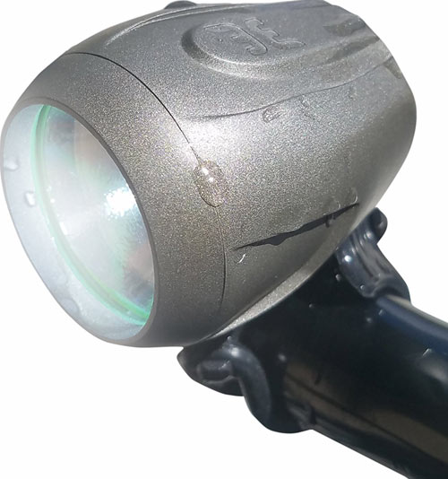 Bright Eyes Fully Waterproof 1200 Lumen Rechargeable Bike Headlight
