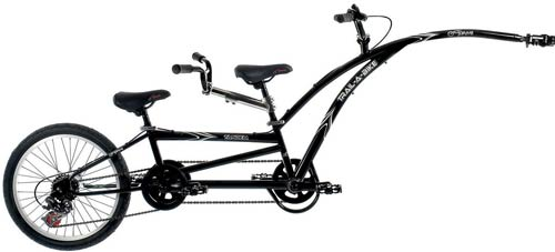 Adams Trail-A-Bike Folding Tandem